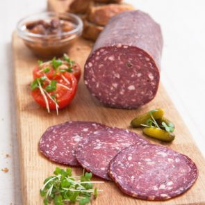 Whole Green Pepper Salami